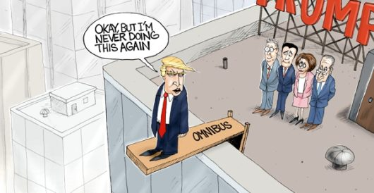 Cartoon of the Day: Going down by A. F. Branco