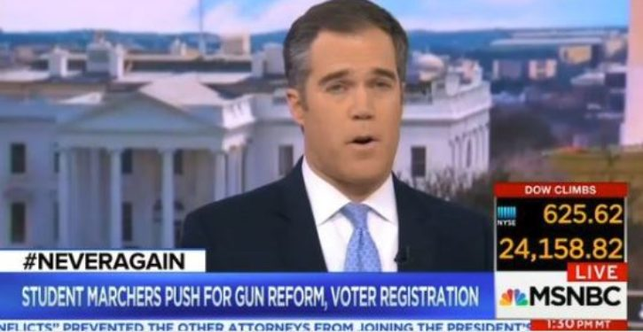 NBC reporter urges viewers to sign promise to vote anti-gun