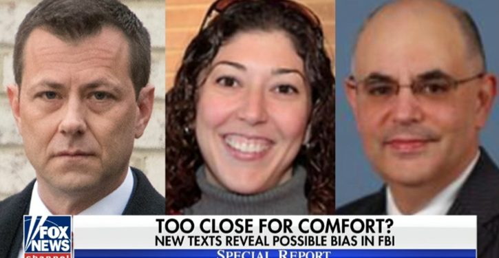 BOMBSHELL: Strzok sought to use personal relationship with recused judge on Flynn case; *UPDATE* More texts