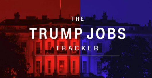 Hmm: CNN hasn't updated its 'Trump jobs tracker' since the beginning of January by LU Staff