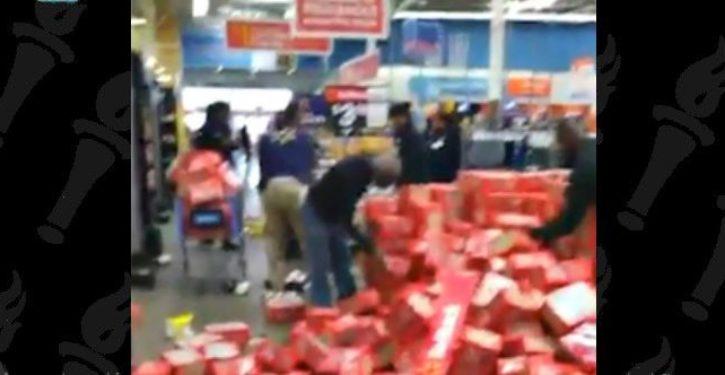 Black Chicago teens exploit gun violence walkout to vandalize, loot a Walmart