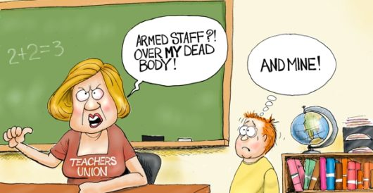 Cartoon of the Day: Teachable moment by A. F. Branco