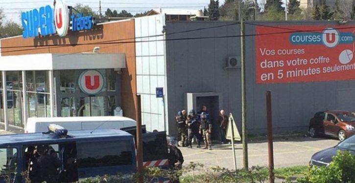 BREAKING: 2 dead, dozens injured after alleged ISIS gunman storms French supermarket