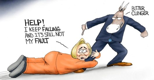 Cartoon of the Day: Bitter clinger redux by A. F. Branco