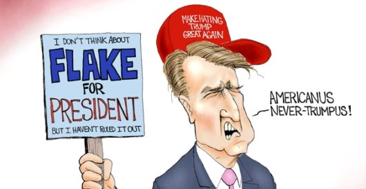 Cartoon of the Day: Flake news by A. F. Branco
