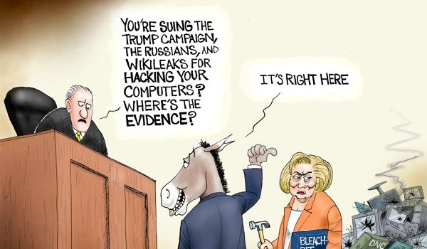 Cartoon of the Day: A mountain of evidence by A. F. Branco