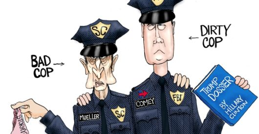 Cartoon of the Day: Deep state troopers by A. F. Branco