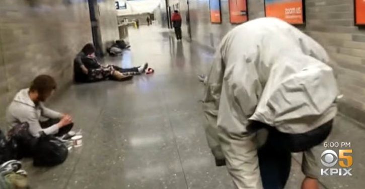 San Fran commuter's daily walk through drug users passed out, vomiting, shooting up in train station