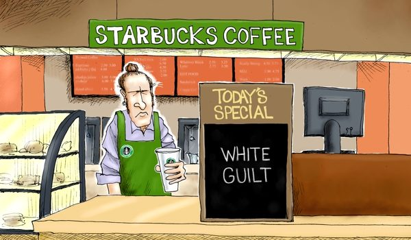 Cartoon of the Day: Black coffee matters by A. F. Branco