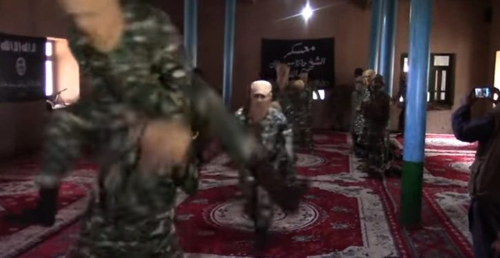 VIDEO: The ISIS-capades: Warrior training, the blooper reel
