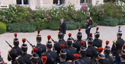 France's Macron takes credit for keeping Trump in Syria, vows to advocate for more militarism by LU Staff
