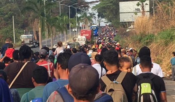 AP changes headline describing illegal caravan as 'army of migrants' after liberals complain by Daily Caller News Foundation