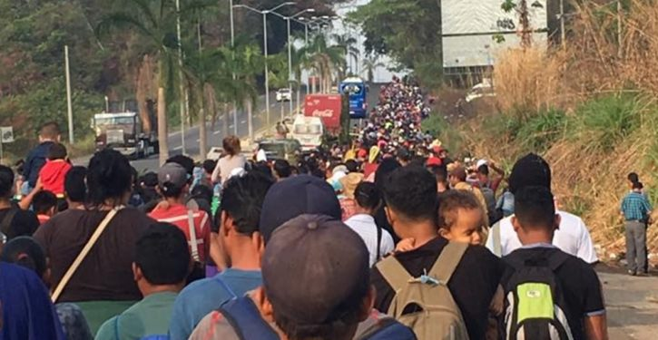 Caravan of illegals now receiving legal advice on 'their asylum rights in U.S.'