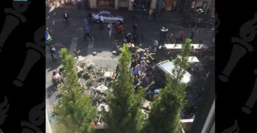 Several dead, dozens injured as truck plows into crowd in Muenster, Germany by Howard Portnoy