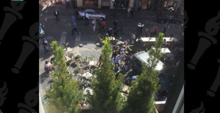 Several dead, dozens injured as truck plows into crowd in Muenster, Germany