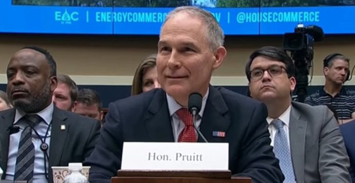 Don't get distracted: The Pruitt tenure is actually a lesson in how to win