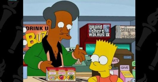 Libs throw fit when 'The Simpsons' shrugs off accusations of stereotyping by Howard Portnoy