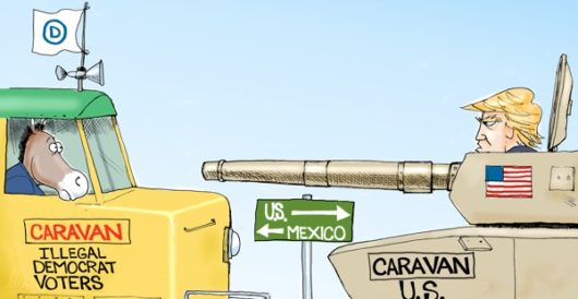 Cartoon of the Day: Mexican standoff by A. F. Branco