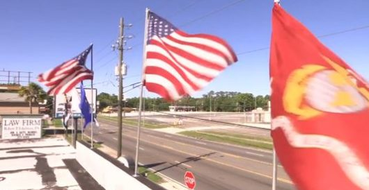 Local store told to remove military flags or face fines, pro-military America explodes by Onan Coca