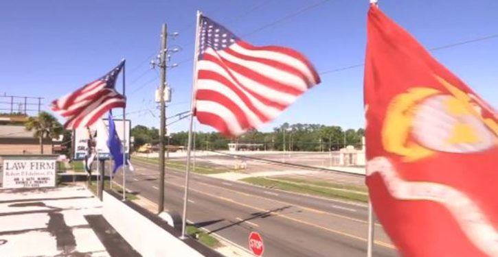 Local store told to remove military flags or face fines, pro-military America explodes