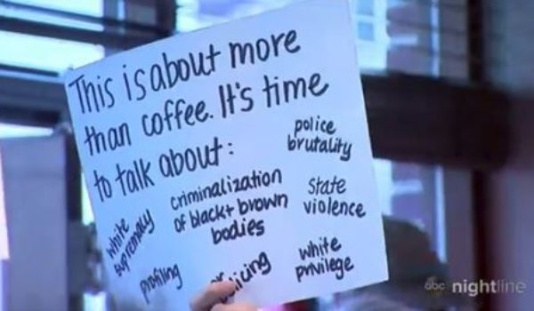 Starbucks protesters say 'unconscious bias training' isn't enough by Ben Bowles