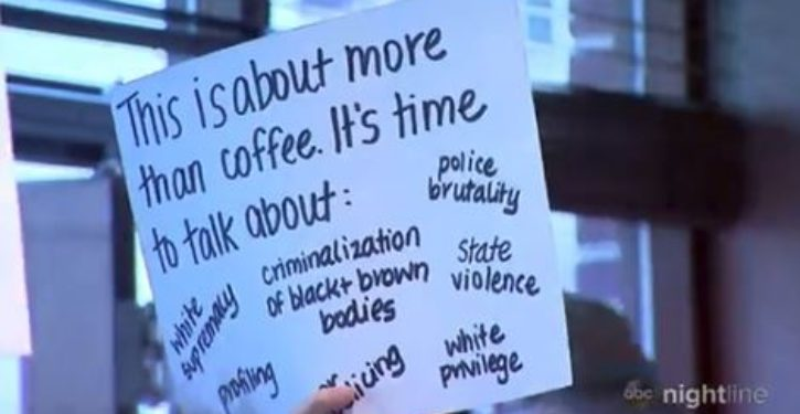 Starbucks protesters say 'unconscious bias training' isn't enough