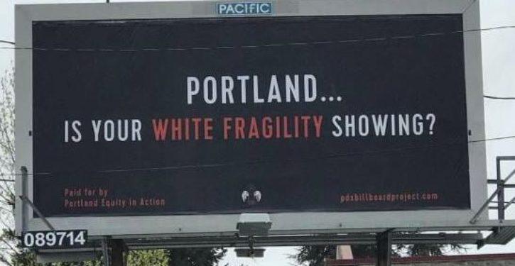 'White privilege' billboards pop up in Portland