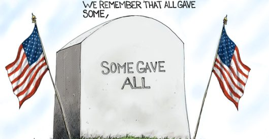 Cartoon of the Day: Honoring their memory by A. F. Branco