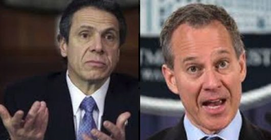 What did Gov. Cuomo know about his attorney general's carryings-on, and when did he know it? by LU Staff