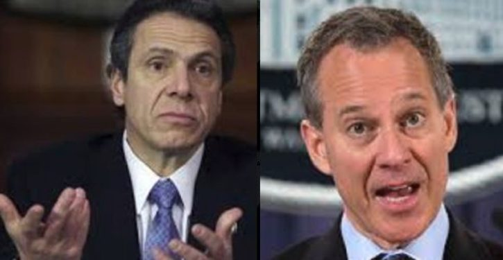 What did Gov. Cuomo know about his attorney general's carryings-on, and when did he know it?