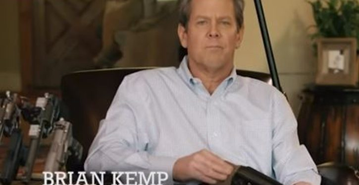 Some viewers are outraged over this political ad it's because there's a gun in it