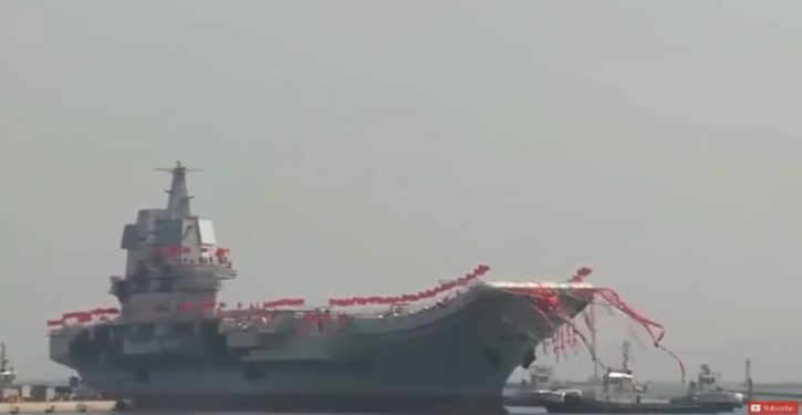 China's first domestically built aircraft carrier starts sea trials