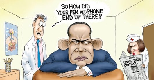 Cartoon of the Day: End of an error by A. F. Branco