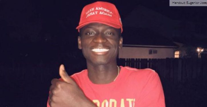 Cheesecake Factory suspends workers who rousted black man for wearing MAGA hat