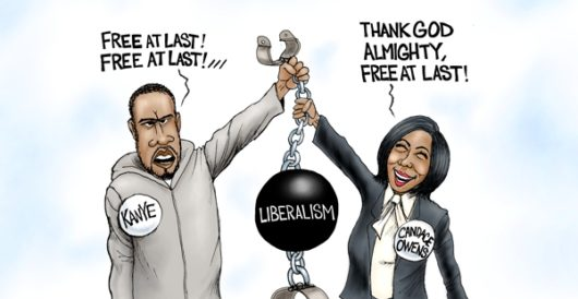 Cartoon of the Day: Unchained by A. F. Branco