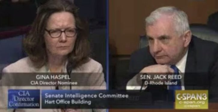 Haspel to Dem senator: There's no comparison between CIA operatives following law and terrorists