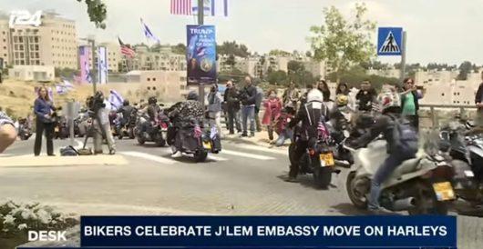Witnessing history: U.S. embassy opens in Jerusalem by J.E. Dyer