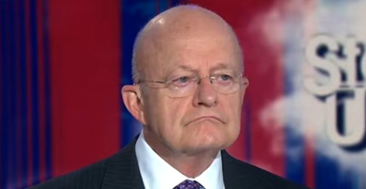 Nervous Clapper claims 'we don't need another investigation of the investigators'