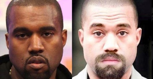 Snoop Dogg zings Kanye West with the ultimate insult: a photoshop of him with white skin by Howard Portnoy