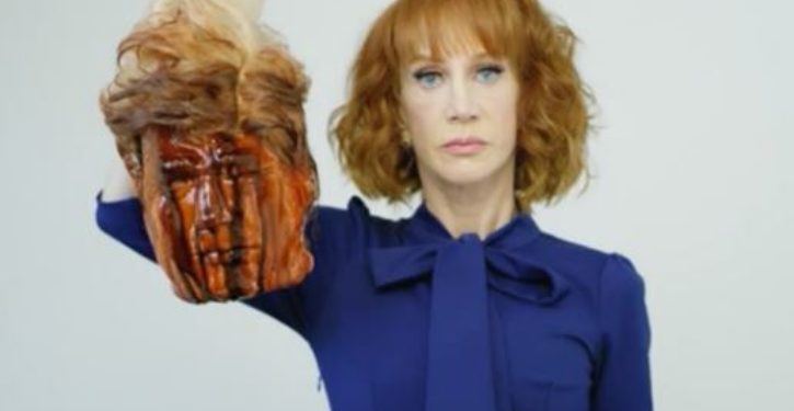 Kathy Griffin is being blacklisted in Hollywood and she blames Trump