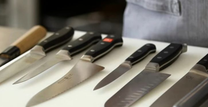 UK supermarket chain will stop selling single kitchen knives
