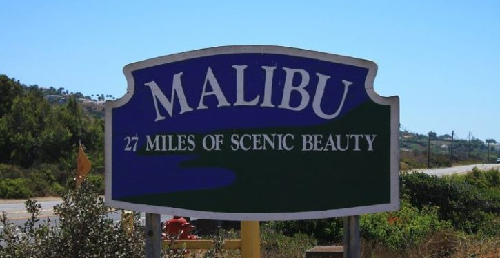 Los Angeles's homeless population descends on Malibu