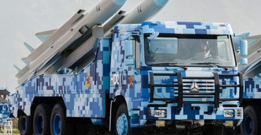 Grabbing 'territory': China reportedly deploys area-denial missile systems to Spratly Islands by J.E. Dyer