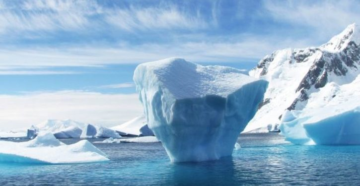 Environmentalists raising funds to carve Trump's face into iceberg