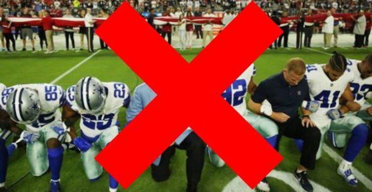 NFL bans kneeling during national anthem