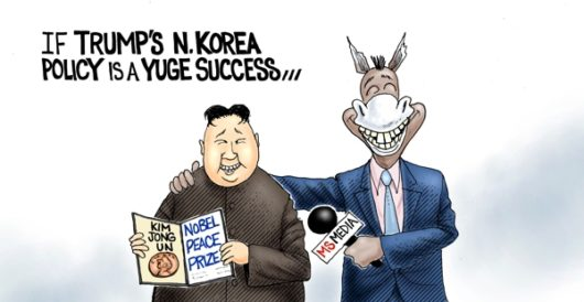 Cartoon of the Day: Peace is the prize by A. F. Branco