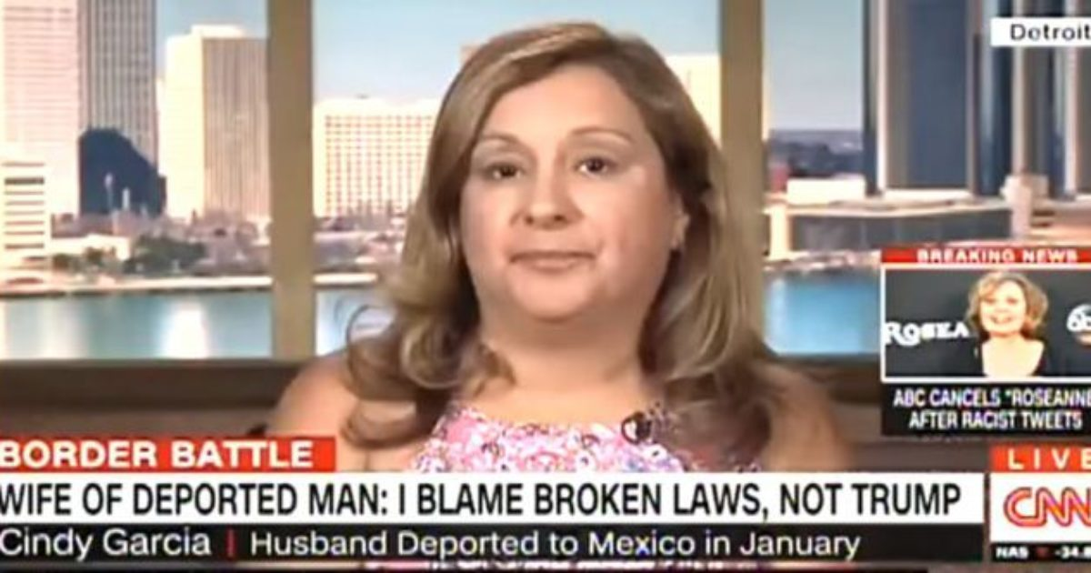 Deportee's wife: 'I can't be mad at Trump for doing his job' - Liberty Unyielding