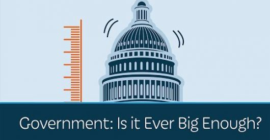 Video: Prager U asks whether government is ever big enough by LU Staff
