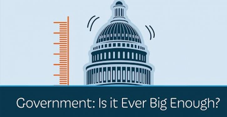 Video: Prager U asks whether government is ever big enough