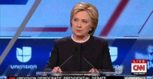 Will Hillary Clinton regret saying this during last night's contentious debate? by Rusty Weiss